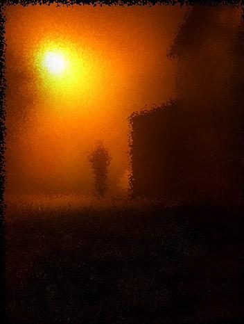 Candeeiro na noite- cacimbo2