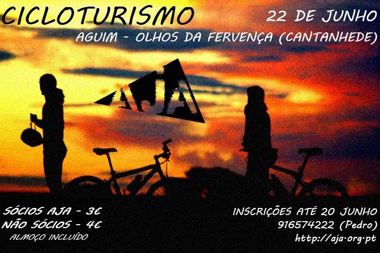 Cicloturismo AJA - 22/06/2013